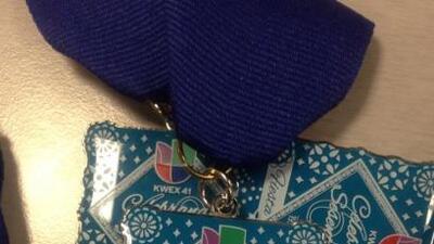 Medalla conmemorativa de 60 años de Fiesta de Univision 41.