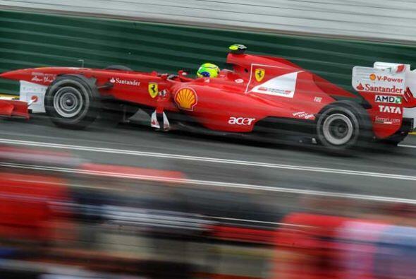 Alonso reconoció que su Ferrari todavía no está a l...