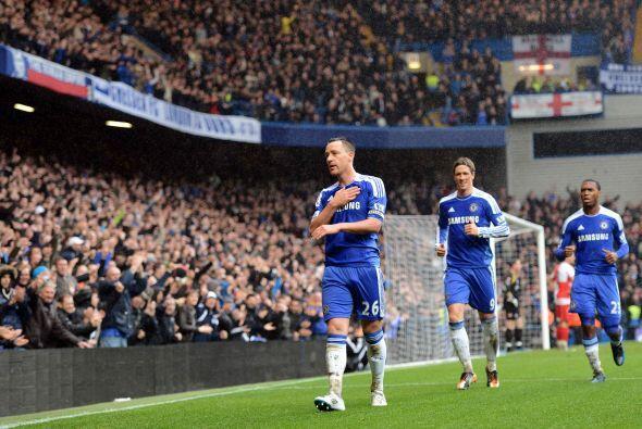 El capitán de los 'Blues' marcó el segundo tanto de su clu...