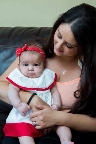 ¡Megan es una bebé con estrella!