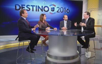 ¿Qué retos enfrentan los precandidatos demócratas en el debate?