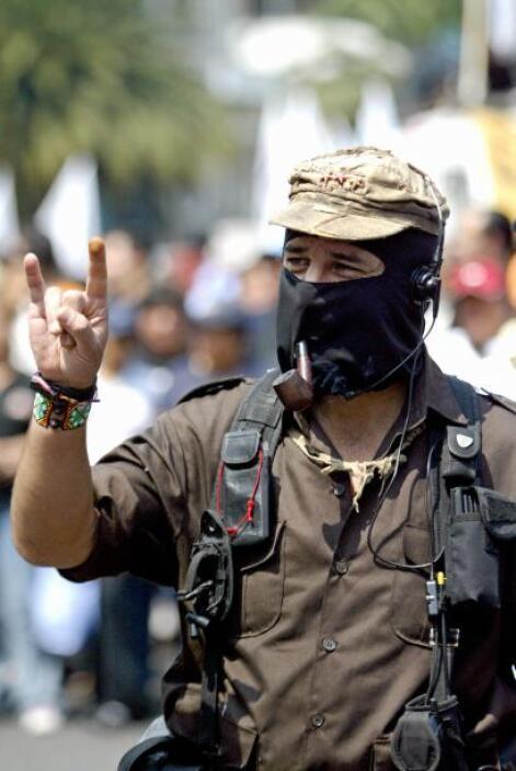 """El líder guerrillero considera que """"la guerra de Felipe Calderón (...) e..."""