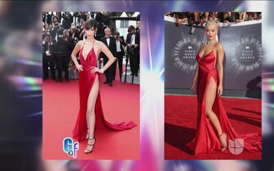 Bella Hadid traía una vestido que ya había usado Rita Ora