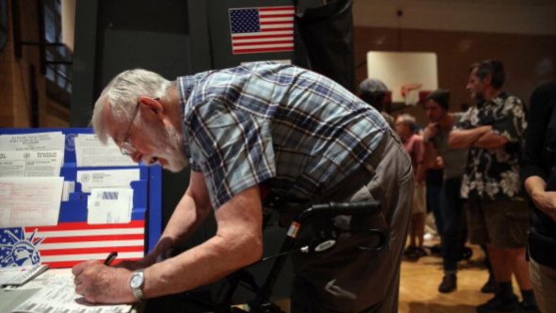 La Ciudad de Nueva York celebra elecciones primarias este 9 de septiembr...