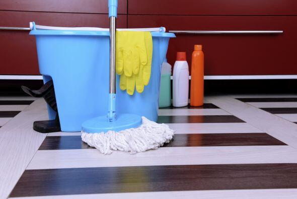 El hecho de que tus herramientas de aseo como trapos y mopas sean utiliz...