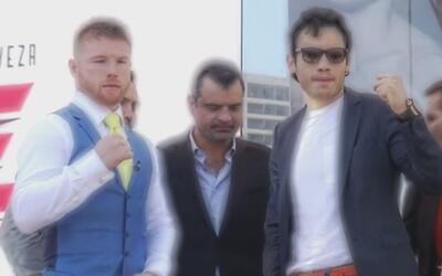 Arrancó la gira promocional de 'Canelo' Álvarez vs. Julio César Chávez Jr.