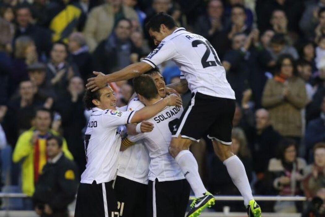Ricardo Costa logró el 1-0.