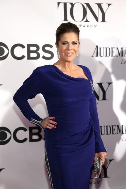Rita Wilson es actriz y esposa de Tom Hanks.