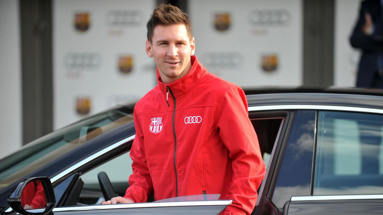Los autos de Lionel Messi
