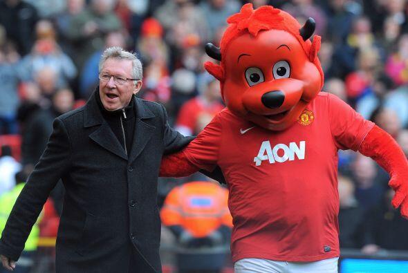 Sir Alex Ferguson dejó por un tiempo su labor como director t&eac...