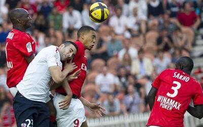 Lille se enfrentó al histórico París Saint Germain en la última jornada...