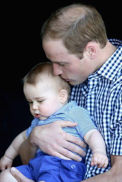 Los duques están muy enamorados de su bebé.