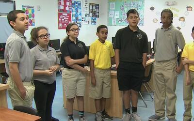Niños estudiantes del sur de la Florida asistirán a la posesión de Donal...