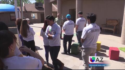 Univision Arizona se suma a los esfuerzos de voluntariado