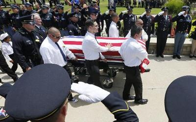 Funeral de Patrick Zamarripa, policía de Dallas