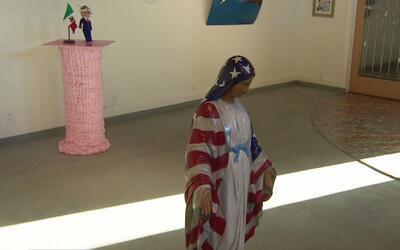 Estudiantes de Texas acuden al arte para luchar contra el miedo de que s...