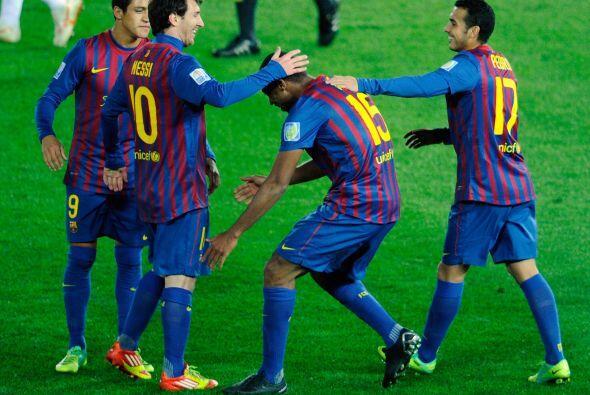 Barcelona goleaba y demostraba que sigue siendo el mejor de todos.