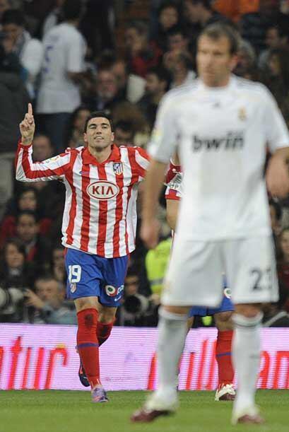 El domingo se jugó el 'derby' madrileño entre Real Madrid...