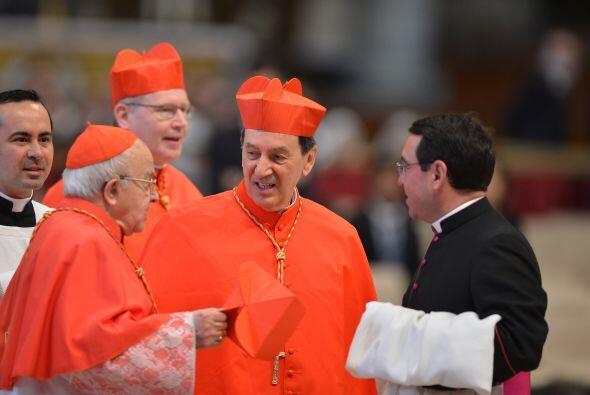 La misa votiva fue oficiada en latín, aunque las lecturas se hicieron en...