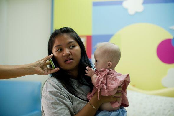 Gammy y su madre ya reciben apoyo de organizaciones internacionales que...