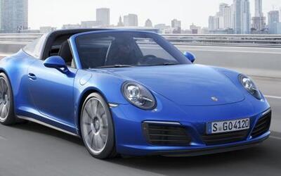 Porsche 911 Targa 4 S 2017