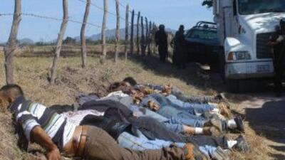 Van más de 28,00 muertos por la narcoviolencia en México.