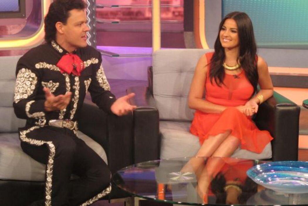 En la telenovela también participa Mane de la Parra, ex novio de la cant...