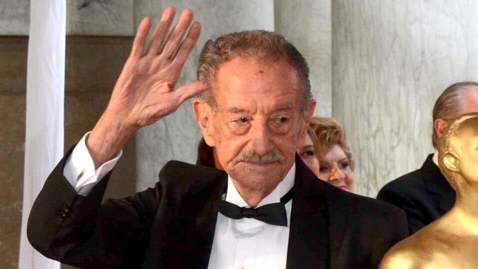 La leyenda del western falleció en Cuernavaca, Morelos.