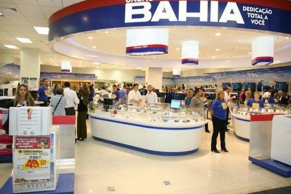 6. CASAS BAHÍA. Estiman en 420 millones de dólares a esta firma brasileñ...