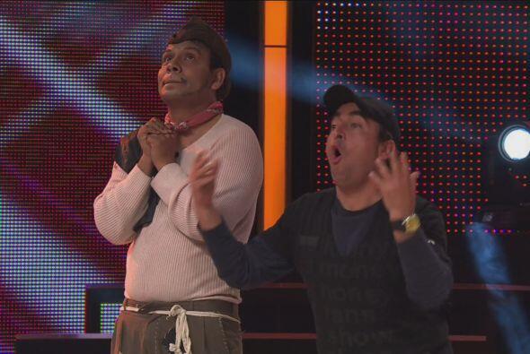 Cantinflas y Adal Ramones se reunieron para vencer al Vítor.