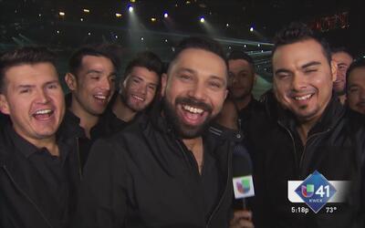 Asómate a los ensayos de Latin Grammy