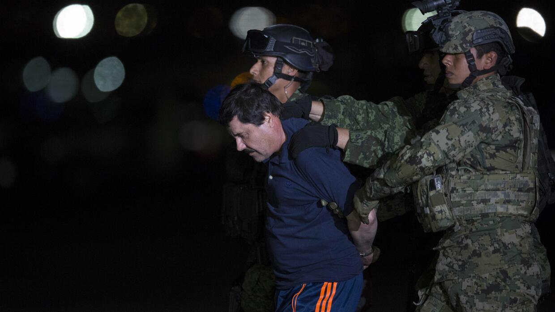 'El Chapo' Guzmán sufre un duro revés legal en la lucha para evitar su e...