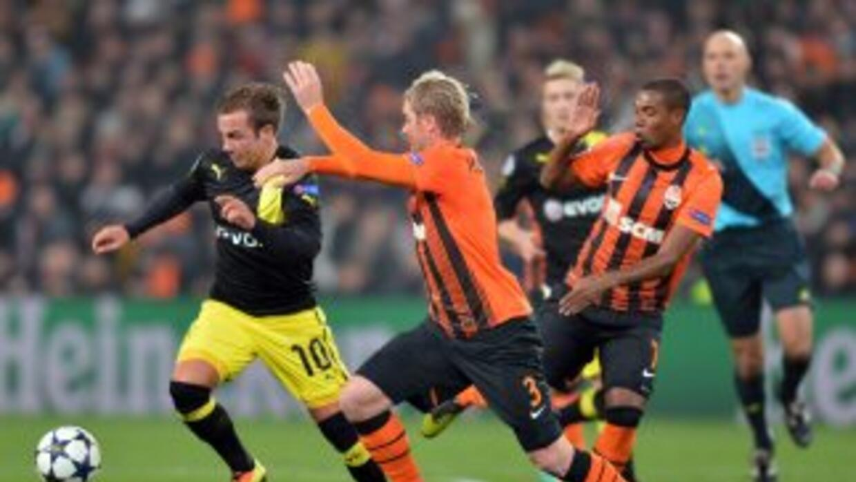 Los alemanes remontaron en par de ocasiones para acabar empatando con el...