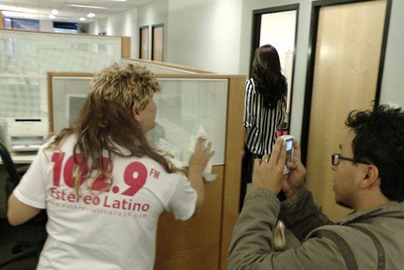 Barbara Falcón, representante texana en Nuestra Belleza Latina, visitó e...