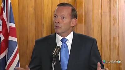 Crecientes esperanzas de encontrar avión de Malaysia Airlines: Tony Abbott