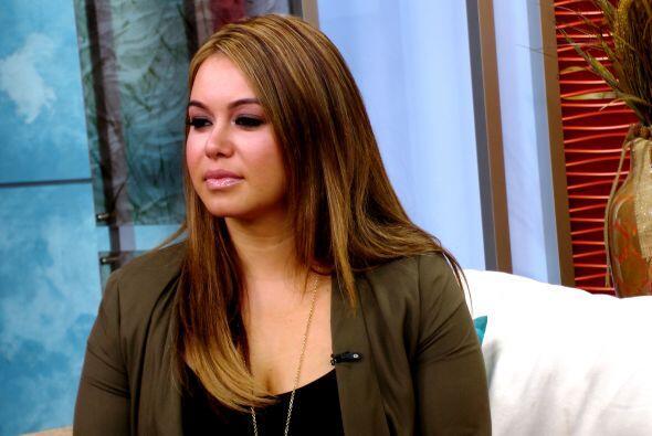 Para Chiquis es difícil ver a su madre hablando de ese modo de ella y sa...
