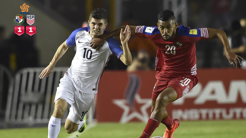 Panamá 1-1 Estados Unidos