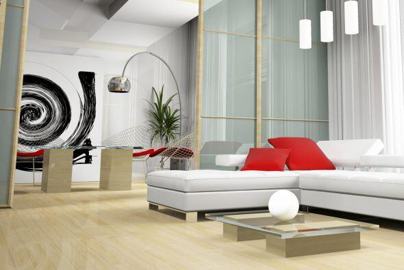 2) Sí al arte moderno. Si no quieres cambiar tus muebles, ni tienes pres...