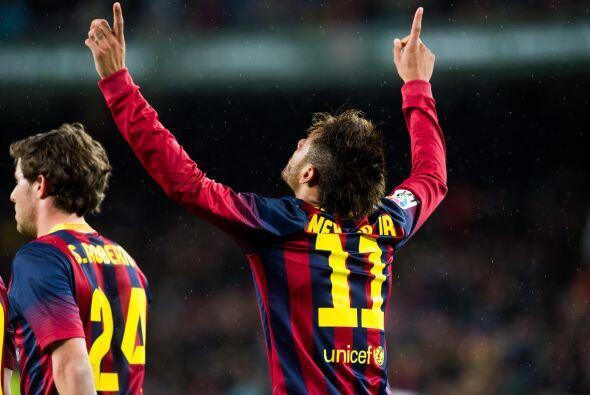 Con el 3-0, el Barcelona sumó tres puntos y un triunfo más luego de disp...
