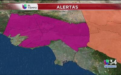 Alerta por calor intenso en el sur de California