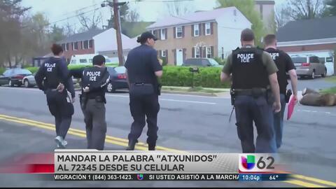 Informan a inmigrantes sobre operativos de ICE mediante el teléfono celular