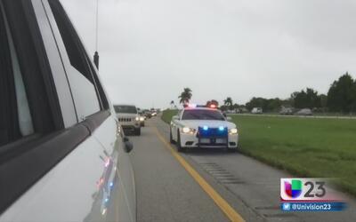 Policía de Miami-Dade protagoniza una persecución contra un hombre armado