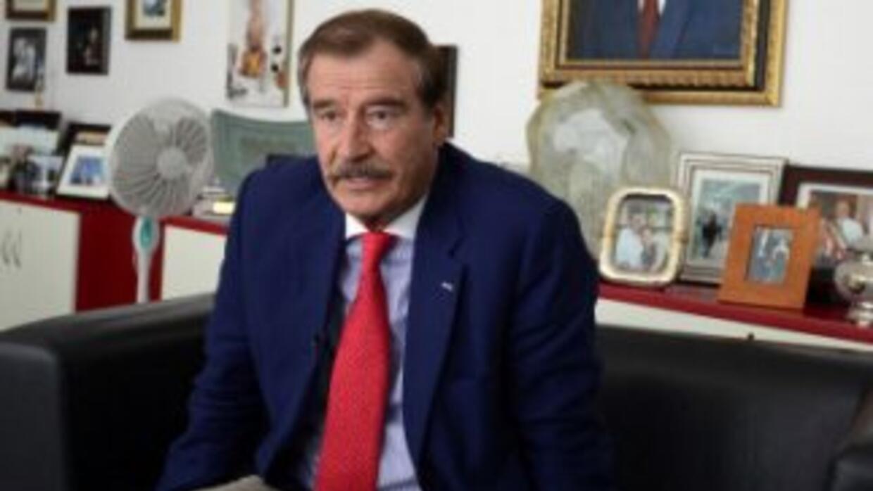 El expresidente mexicanoVicente Fox.
