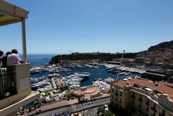 Un palco de privilegio para el Gran Premio de Mónaco.