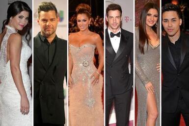 Elegantes, guapos y muy hot, estos famosos dejaron huella al pasar en la...