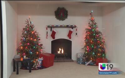 Hidratar tu árbol de Navidad y limpiar tu chimenea son medidas básicas p...