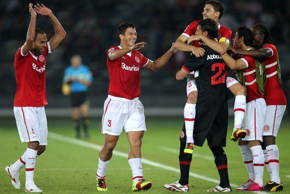 El otro Inter, el de Brasil, terminó tercero ya que venció por 4 a 2 al...