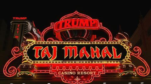 El casino de Trump en 2004, más de una década después de declararse en b...
