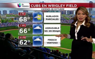 La Serie Mundial se jugará en un día agradable con vientos fuertes