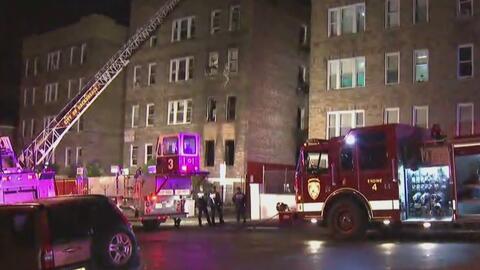 Más de 120 personas desalojadas por fuerte incendio Passaic, Nueva Jersey